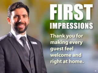 Hospitality Workplace Signage