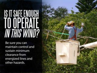 Bucket Lift Worker Safety