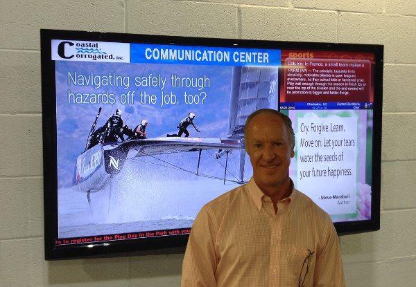 Workplace Communication Signage