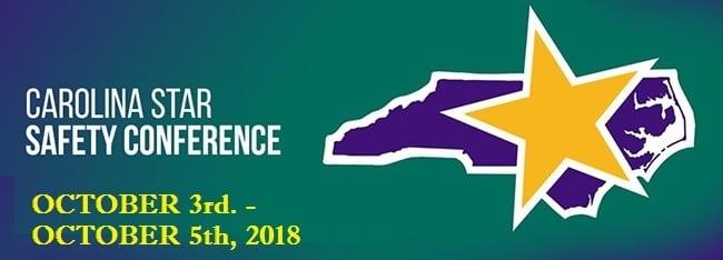 2018 Carolina Star Safety Conference